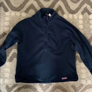 Vineyard vines navy fleece in xl